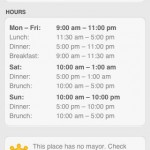 4square hours