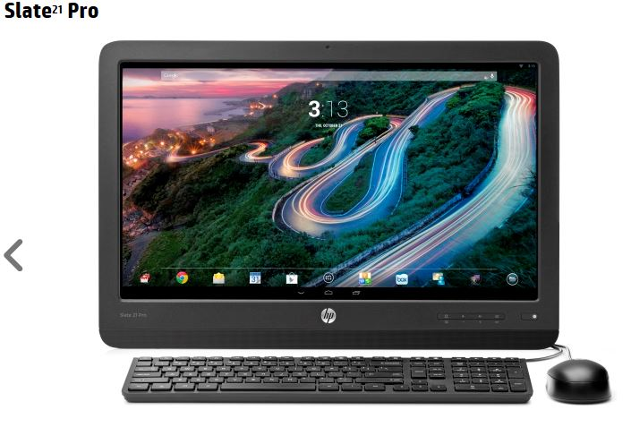 HP slate pro android