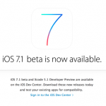 Apple Rolls Out iOS 7.1 Update