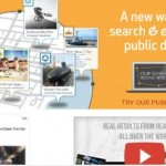 Social location search