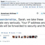 Teen girl facing FBI investigation after 'terror' threat to American Airlines blames Twitter malfunction