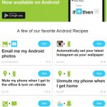 IFTTT for Android – Some Awesome Recipes!