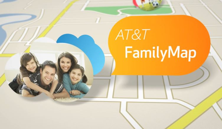 AT&T family map