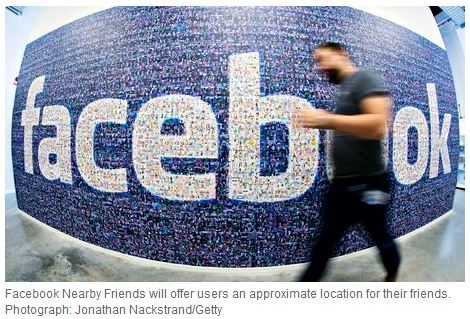 Facebook Nearby Friends: a first step in making tech more human