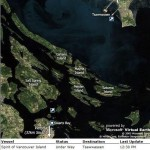 Real Time GPS Tracking Maps of B.C. Ferries via Microsoft Virtual Earth @BCFerries