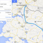 Google Maps offers first satnav directions for driving in North Korea