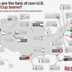 Redfin Maps International World Cup Fandom across the U.S