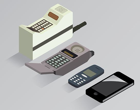 A History of Cell Phones
