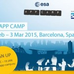 ESA App Camp is inviting developers to Barcelona from 25 Feb – 3 Mar 2015