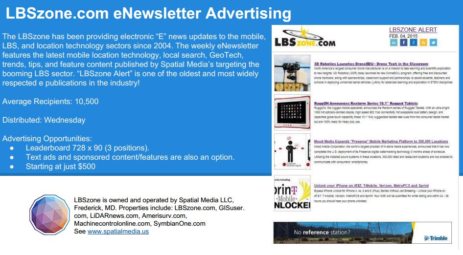 lbszone e newsletter advertising