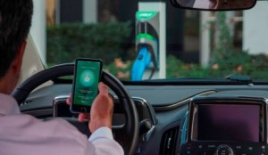 AeroVironment's New TurboDock Workplace and Commercial EV Charging Station Puts Control in the Palm of Drivers' Hands with Smartphone App (Photo: Business Wire)