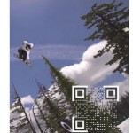 a new QR code generation, discrete and transparent, is now available for video