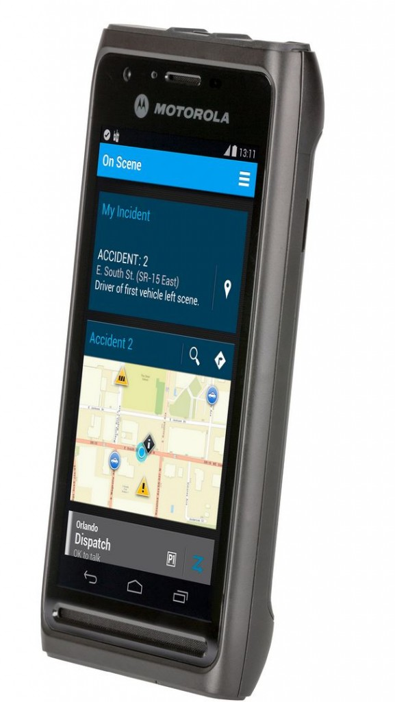 New LEX L10 LTE handheld devic