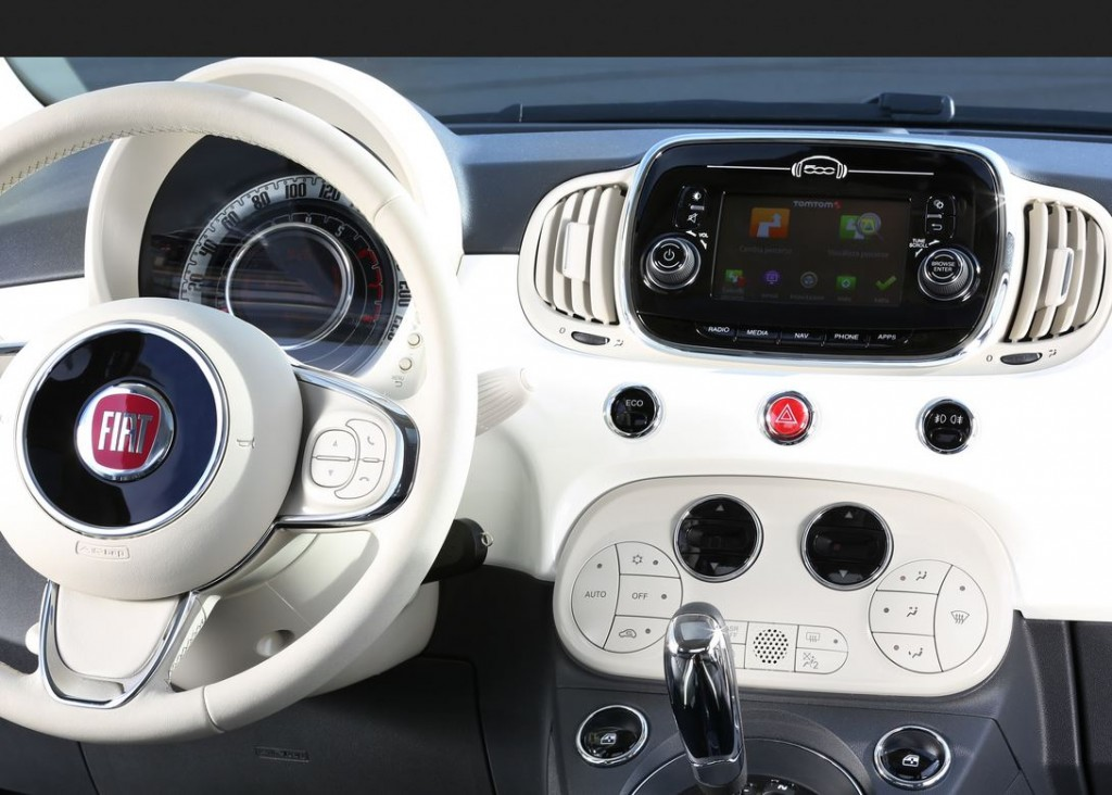 New Fiat 500 launched with TomTom Live services and connected navigation