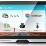 Rand McNally's new RV Tablet 80 gives RVers access to advanced RV GPS navigation and trip planning with entertainment and information - plus extras like a built-in dash cam.