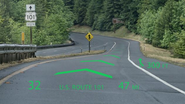 The World's First Holographic Navigation