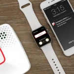The intuitive Onelink by First Alert Wi-Fi Smoke and Carbon Monoxide Alarm protects against the threats of smoke and carbon monoxide, and notifies users on their iOS devices in the event of an emergency. (Photo: Business Wire)