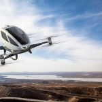 "EHang Launches First-Ever Autonomous Aerial Vehicle ""EHang 184″ at CES"
