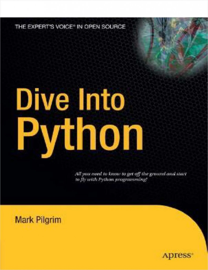 "Free eBook: ""Dive Into Python--Free 328 Page eBook"