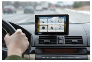With Rand McNally OverDryve(TM), any car becomes connected. OverDryve(TM) is an elegant dashboard tablet that offers a combination of entertainment, information, navigation, and safety features.