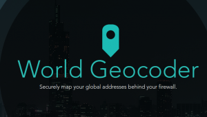 world geocoder from esri