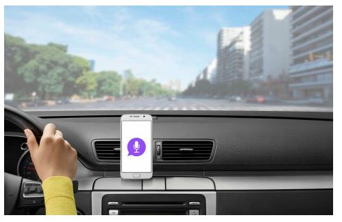 Smart Car Mount and App Help Keep Drivers' Eyes on the Road