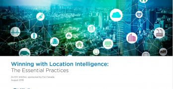 New Study Shows Many Canadian Organizations Lag in Location Intelligence