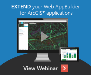 ondemand webinar - Extending Web AppBuilder for ArcGIS with Geocortex Essentials