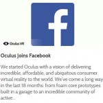 Facebook to buy virtual reality headset maker Oculus for $2-billion