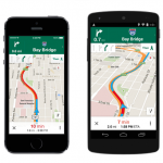 Google Maps with New Uber Integration
