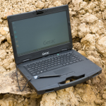 Getac S410 semi-rugged latop (Photo: Business Wire)